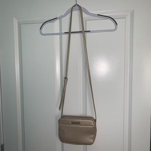 Tahari Tan Crossbody Purse